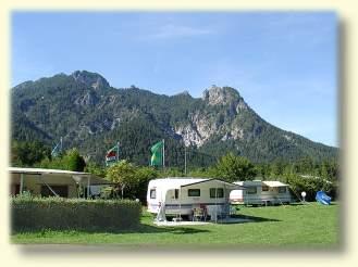 campingplatz winkl landthal bei berchtesgaden in bayern. Black Bedroom Furniture Sets. Home Design Ideas